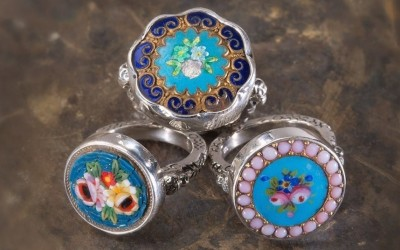Victorian – Edwardian Button Jewelry